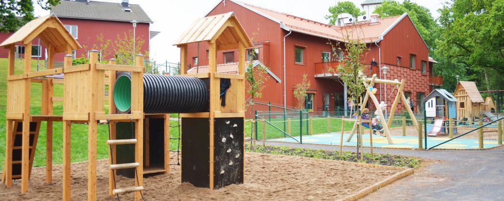 Bild på Långareds förskola.
