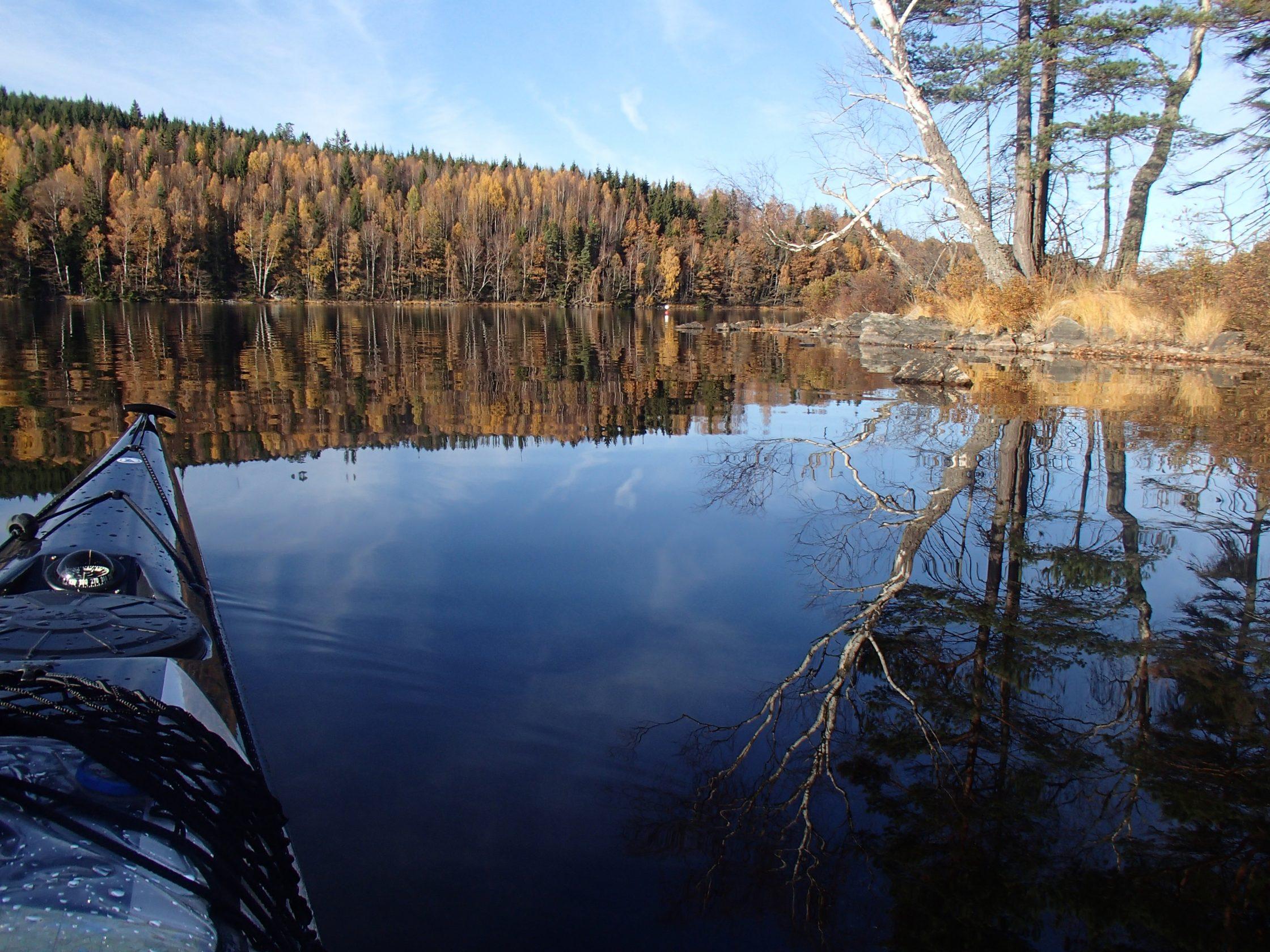 Färgensjöarnas naturreservat.