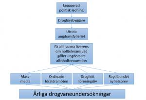Bild på organisationsmodell
