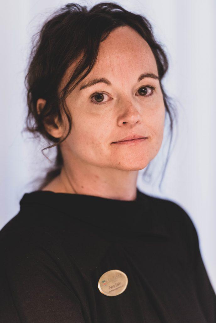 En bild på läraren Petra Dalin.